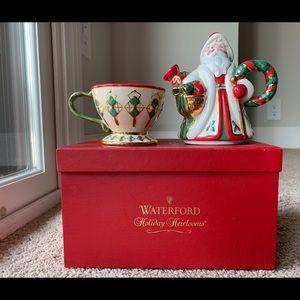 Waterford Christmas Sugar/Creamer Set